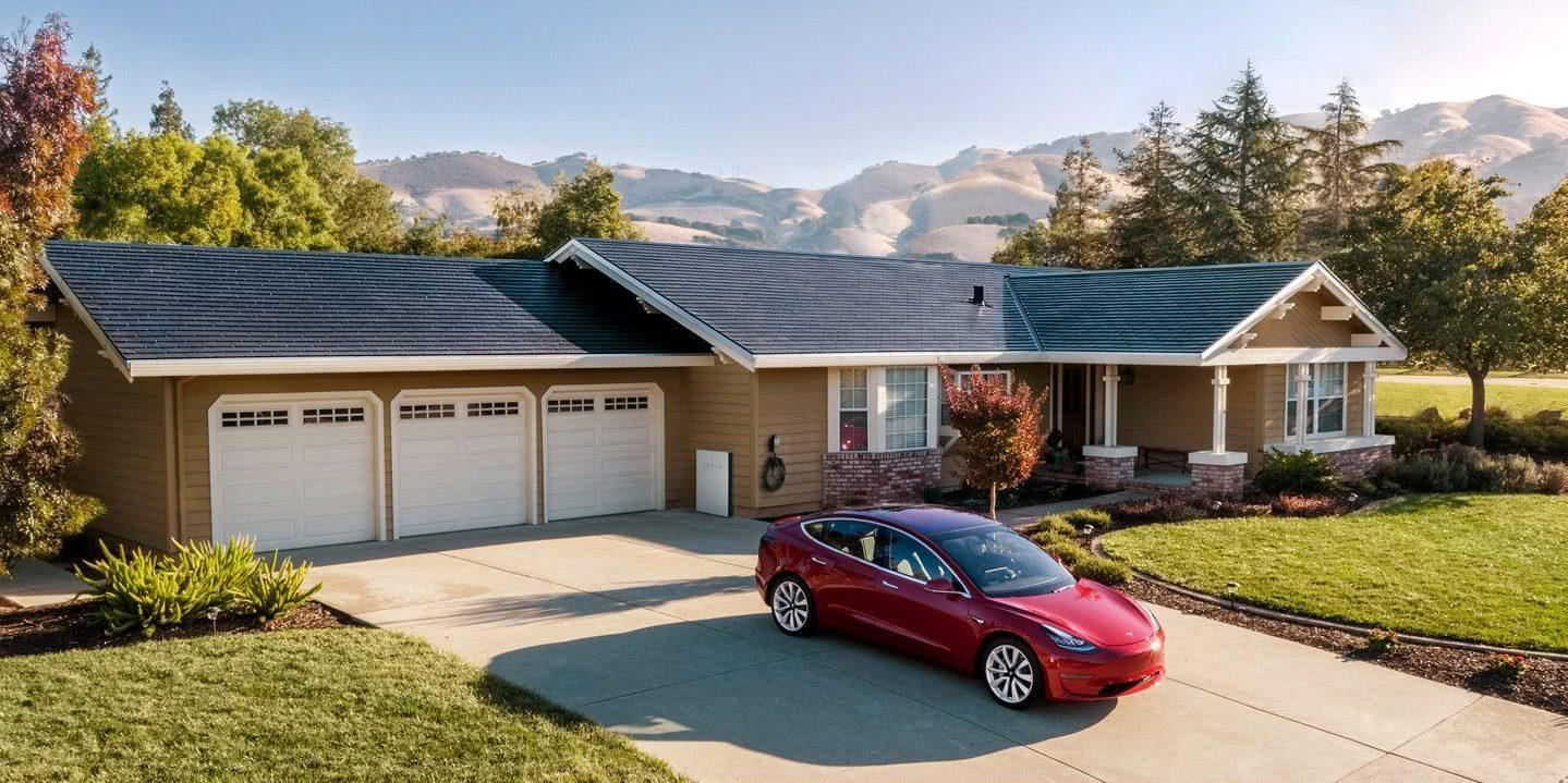 马斯克:安装特斯拉太阳能电池板和Powerwall可提高住宅价值