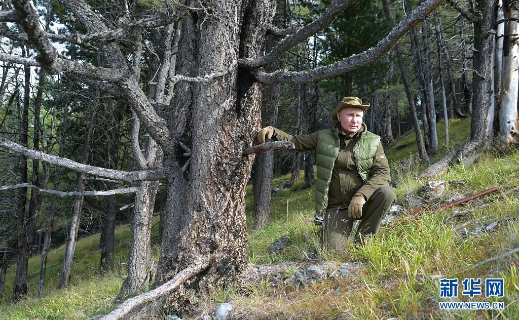 俄罗斯总统普京在西伯利亚过67岁生日