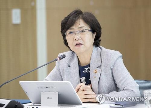 图注:韩国环境部长官金恩京