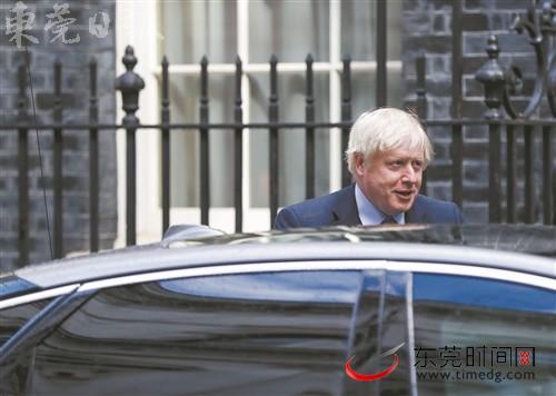 """英国首相约翰逊将见欧洲联盟委员会主席容克 寻求突破""""脱欧""""僵局"""