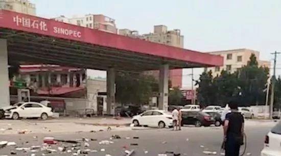 880围观 ▏手机扫码支付油钱,然后爆炸导致4人死亡??