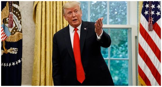 特朗普/材料图自CNN
