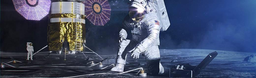 扛住零下157度超低温还能翻跟头,NASA登月宇航服第一次解放四肢