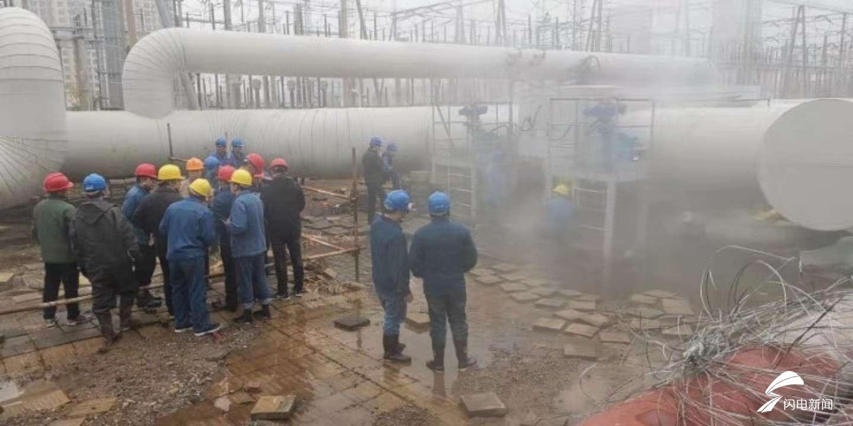 暖了!济南黄台电厂抢修完毕 部分居民家中暖气有温热感