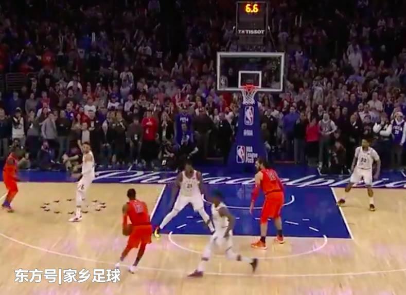 NBA上演7秒绝杀 5秒反绝杀,威少6犯罚下,乔治3 1救主图片 56614 789x575