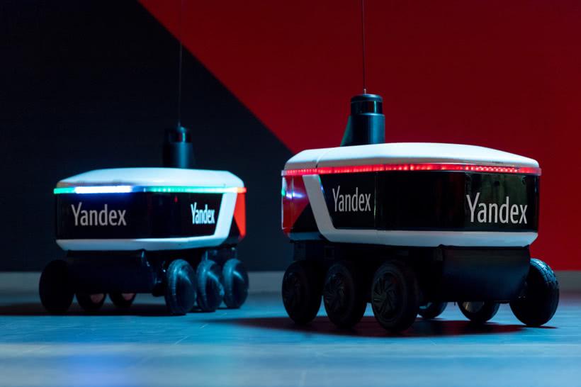 Yandex对6轮自动驾驶送货机器人进行实验测试