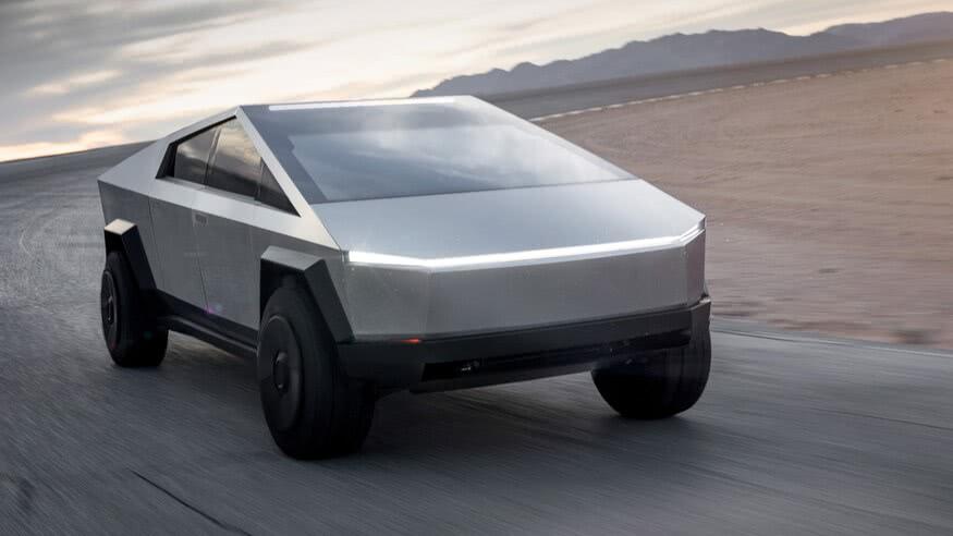 特斯拉新车发布现场测试玻璃强度:碎了
