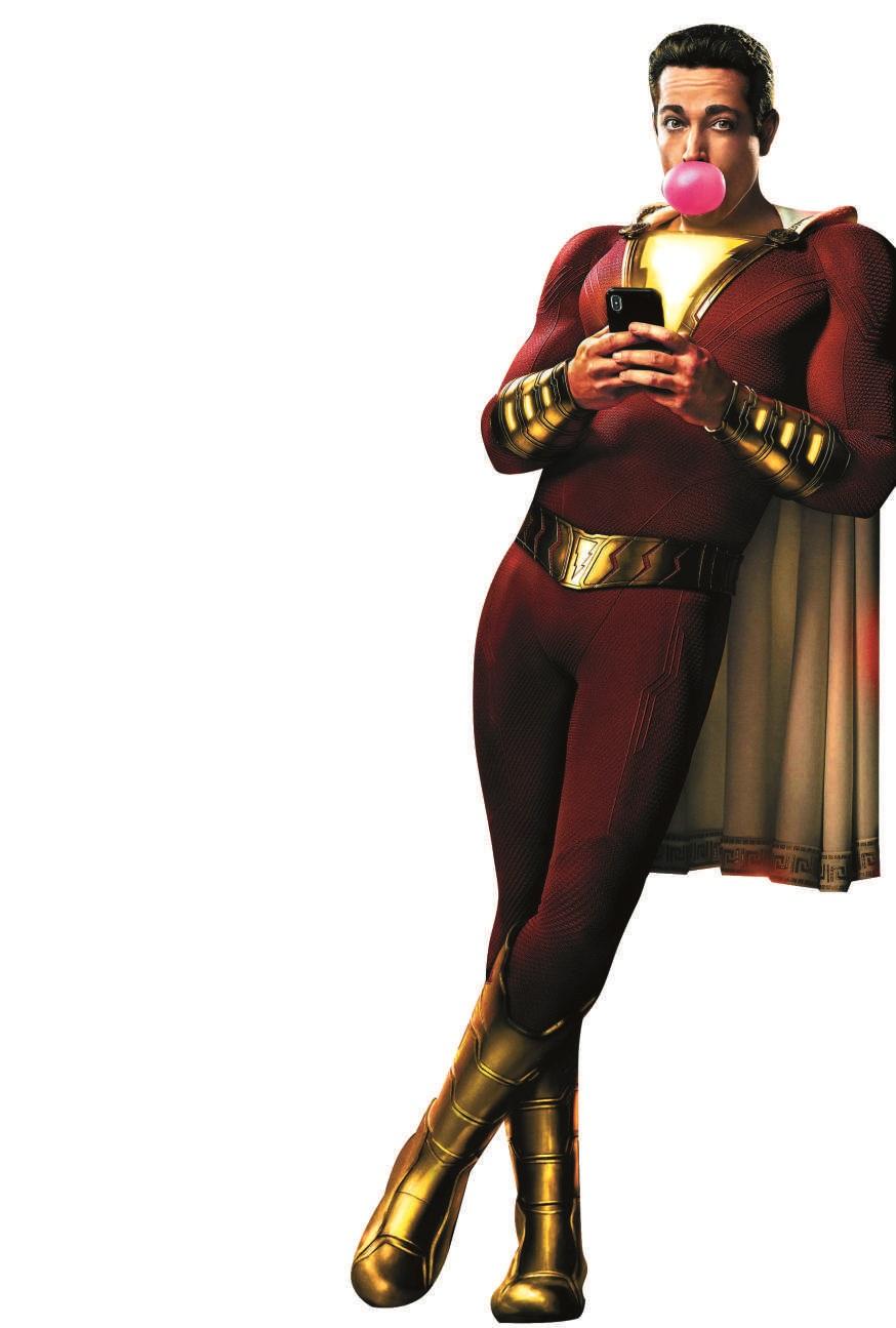 《雷霆沙赞!》这个dc超级英雄有点中二搞笑