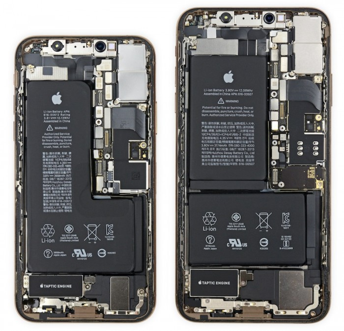 ax 发现它们拥有缺口电池XS Max拥有Apple设