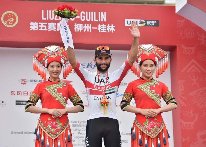 加维里亚夺得环广西公路自行车世界巡回赛第五赛段冠军