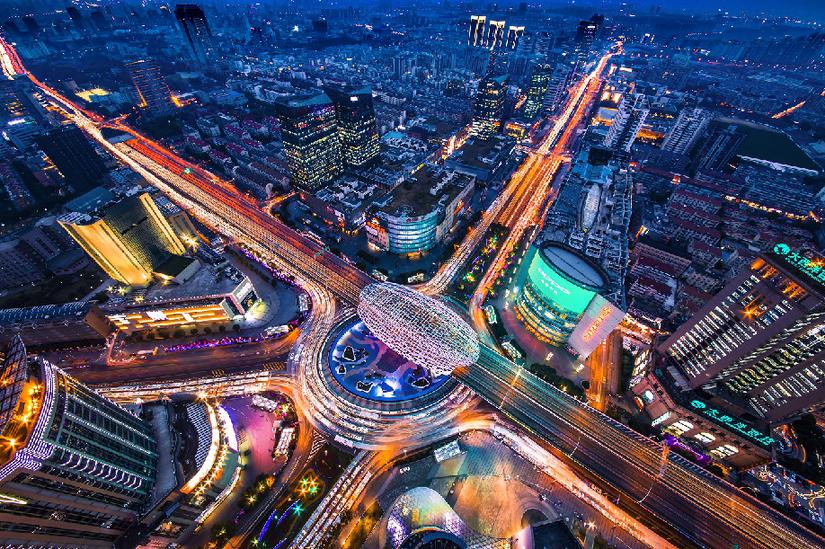"""创新高地 创业热土——上海五角场的""""双创""""活力与发展动力"""
