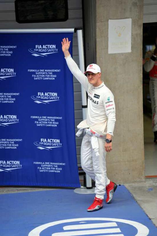 F1中国大奖赛15岁了 还记得舒马赫的意气风发