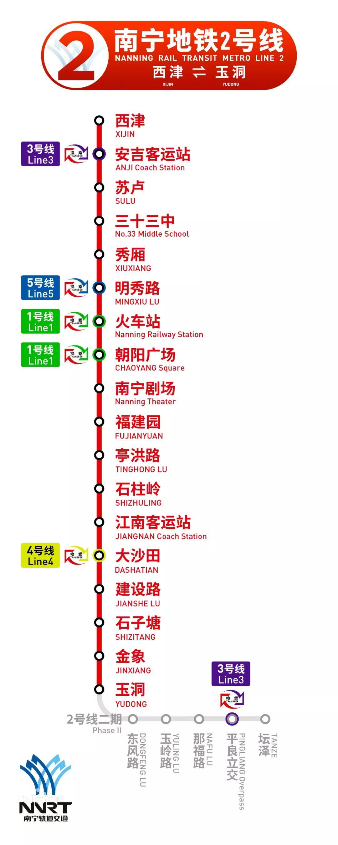 南宁地铁123号线,竟藏着这么多好玩的地方!