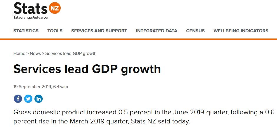 真实赚钱网赚项目_新西兰经济增速创五年新低 总量突破3000亿美元