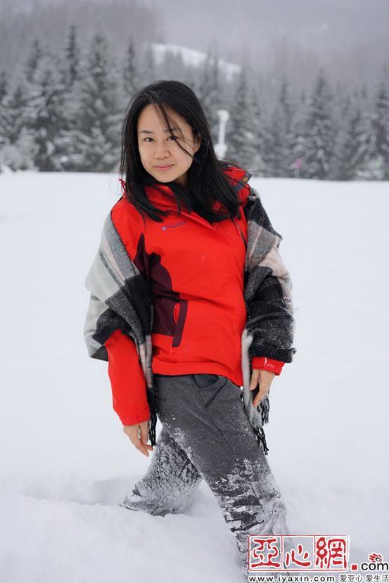 """【达人西游】""""禾木的雪从脚上蔓延到身上最后"""
