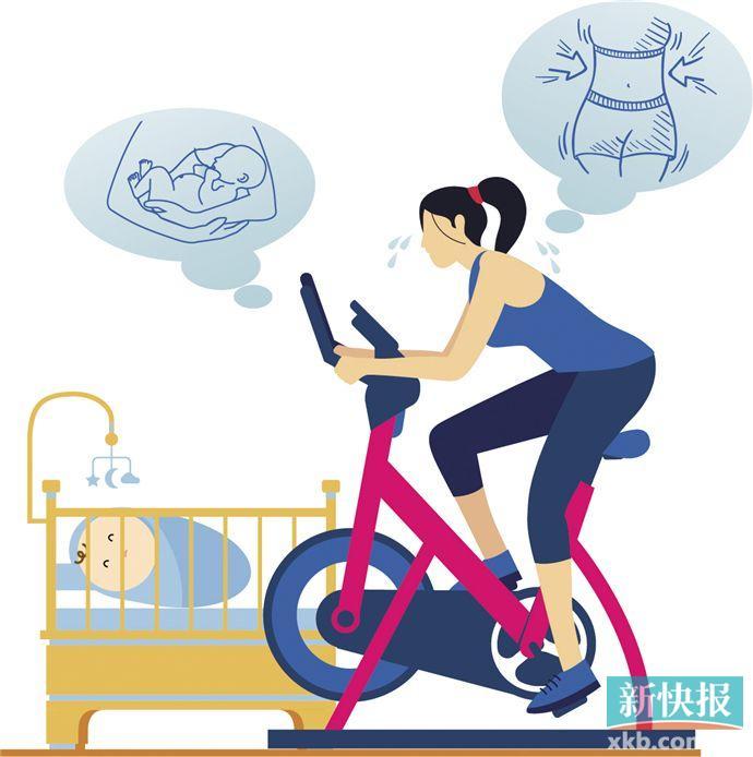 产后瘦身别指望束缚带 均衡饮食加科学运动才靠谱