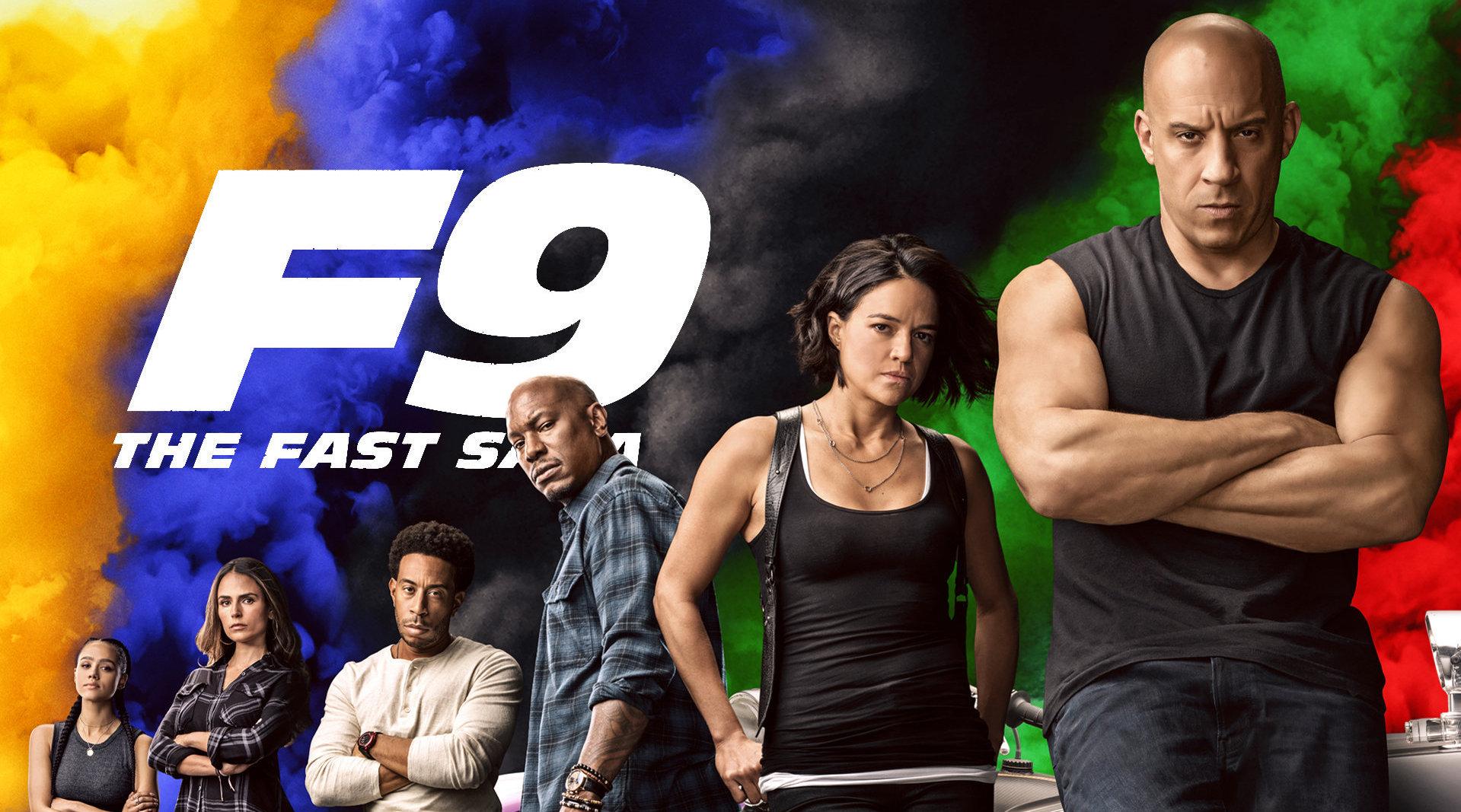 《速度与激情9》裸眼3D版预告!唐氏家族重聚上演热血大战!