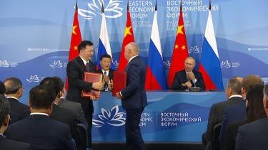 中央广播电视总台与今日俄罗斯通讯社签署协议