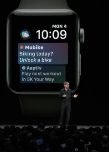 Apple Watch可快捷解锁摩拜单车 新技能在WWDC上亮相-领骑网