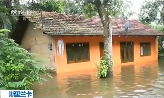 暴雨天气导致斯里兰卡超10万人受灾