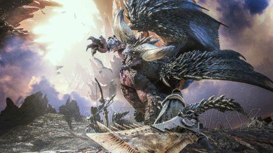 《怪物猎人世界》全画廊CG视频合集欣赏