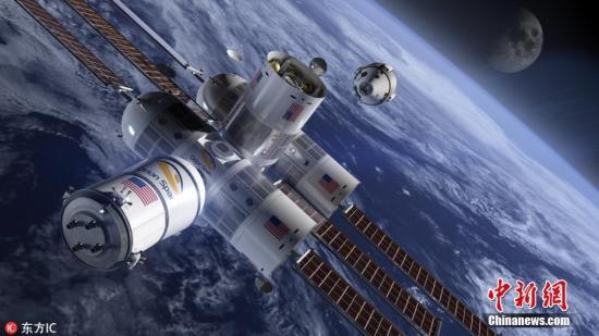 资料图:太空。东方IC图片来源:东方IC 版权作品 请勿转载