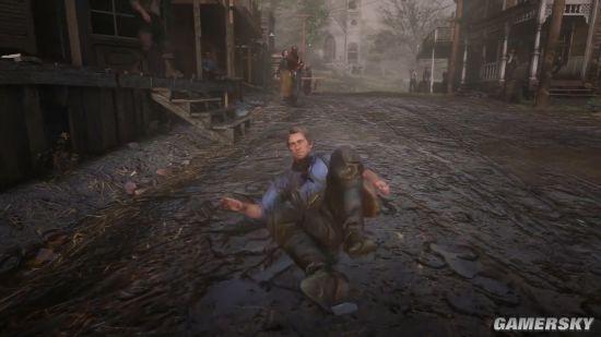 《荒野大镖客:救赎2》演示中的疯狂细节:连泥巴都做得这么细加油大魔王111