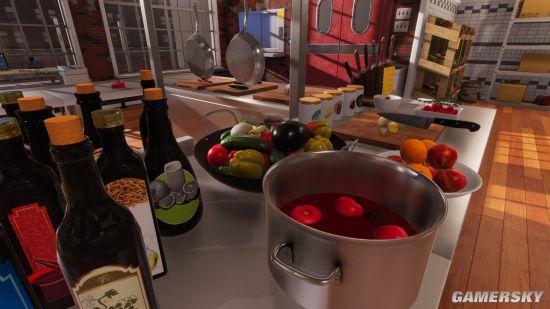 逼真做菜游戏《料理模拟器》12月7日发售 人人都可以是食神