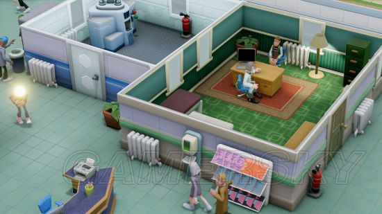 《双点医院》全方位资料数据整理 科室与员工技能信息一览