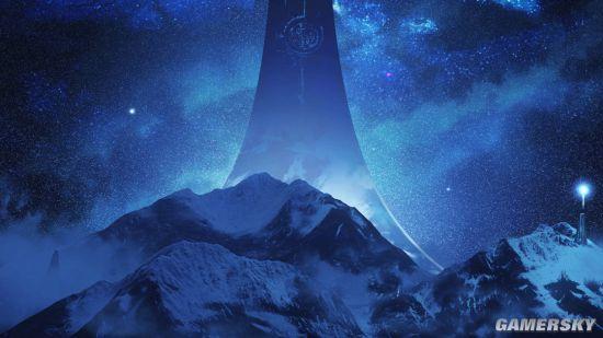 光环:无限》新概念艺术图 星光璀璨风景迷人