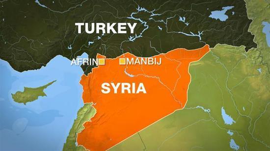 驻叙美军巡逻地遭恐袭致8死20伤死者含1美军