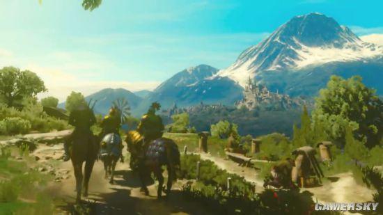 NS《巫师3》发售预告 随时随地踏上传奇旅途
