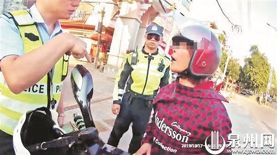 """无证驾驶被查 女子出口成""""脏"""" 被行政拘留11天"""