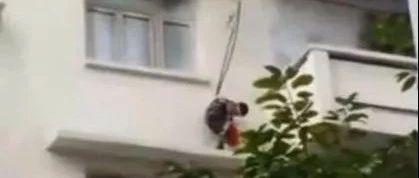 7岁娃被外婆用绳子吊下 竟为了…家长要注意这些!