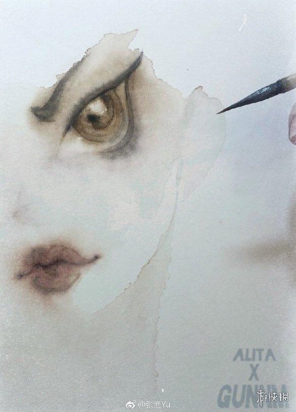 《阿丽塔:战斗天使》将破8亿大关 中国艺术家献手绘致敬原著作者