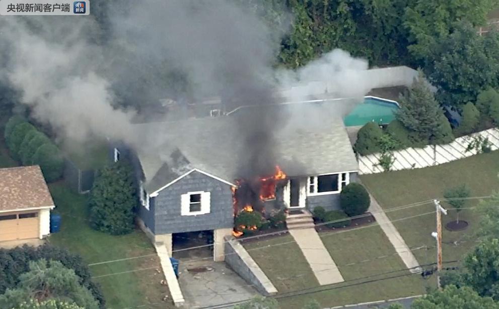 美国马萨诸塞州多处房屋发生燃气爆炸