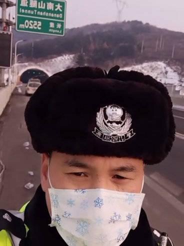 山西高速六支队四大队 提示:京昆高速平阳段,天气晴朗
