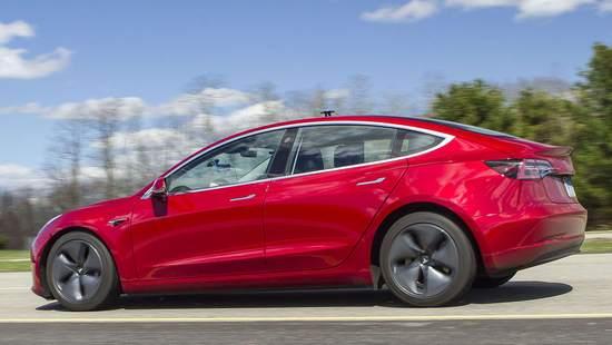 美权威杂志:如果Model 3<em>制动距离</em>改善 将重新测试