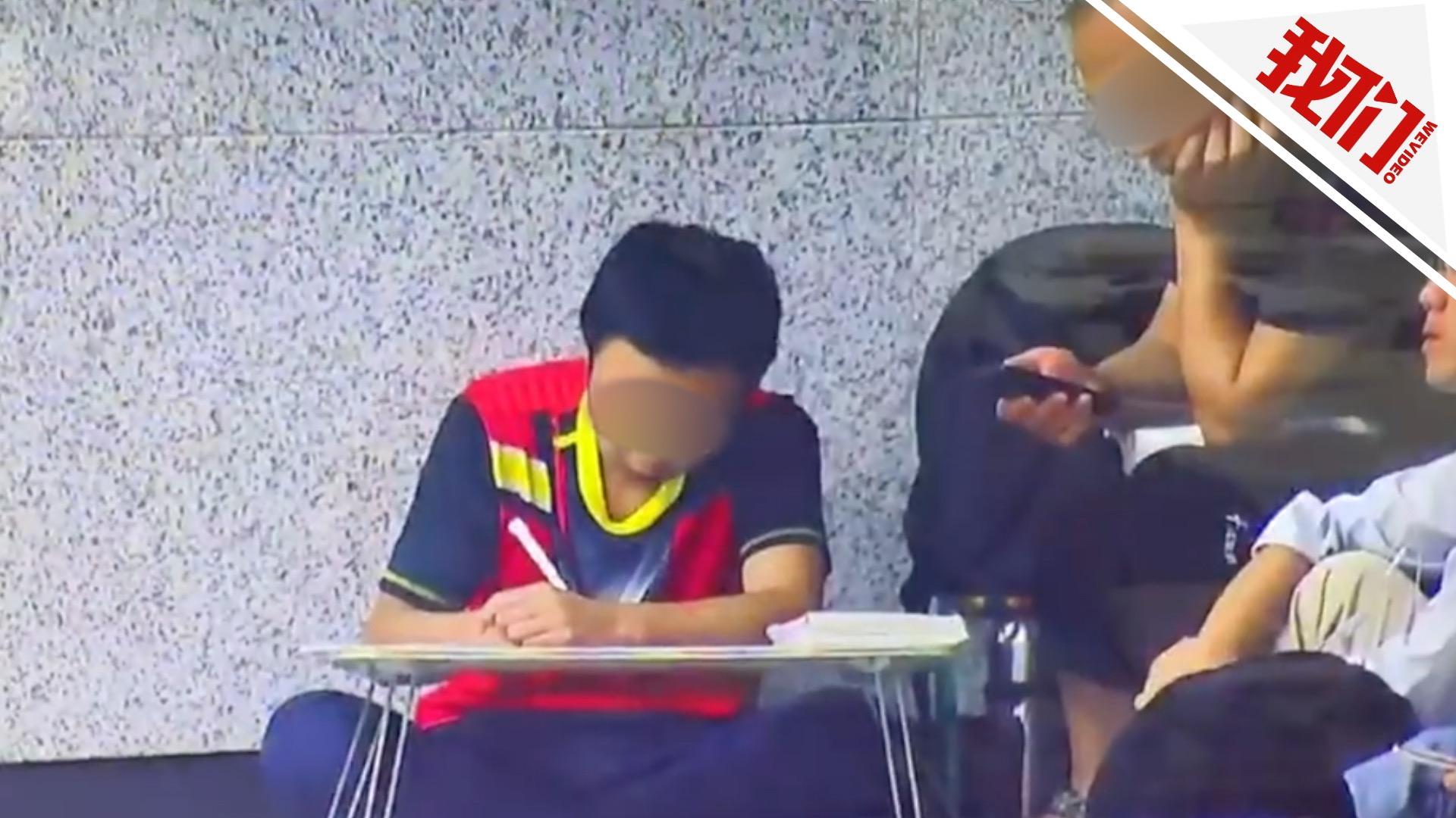 """学生带病写作业,不是医院设""""作业吧""""之错"""