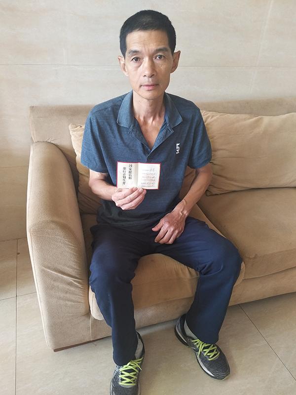 福建大田县中学教师章德斌。 澎湃新闻记者 王选辉 图