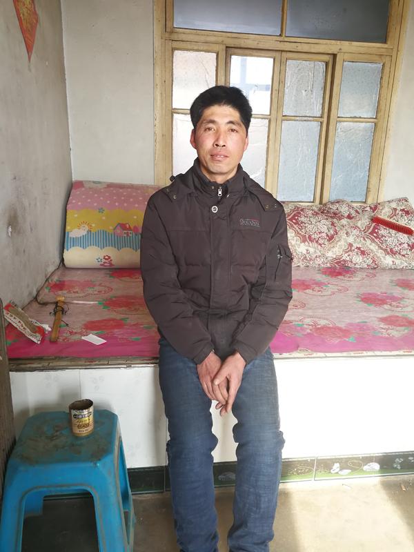 辽宁省法库县人周刚曾被强迫劳动4年。澎湃新闻记者 朱远祥 图