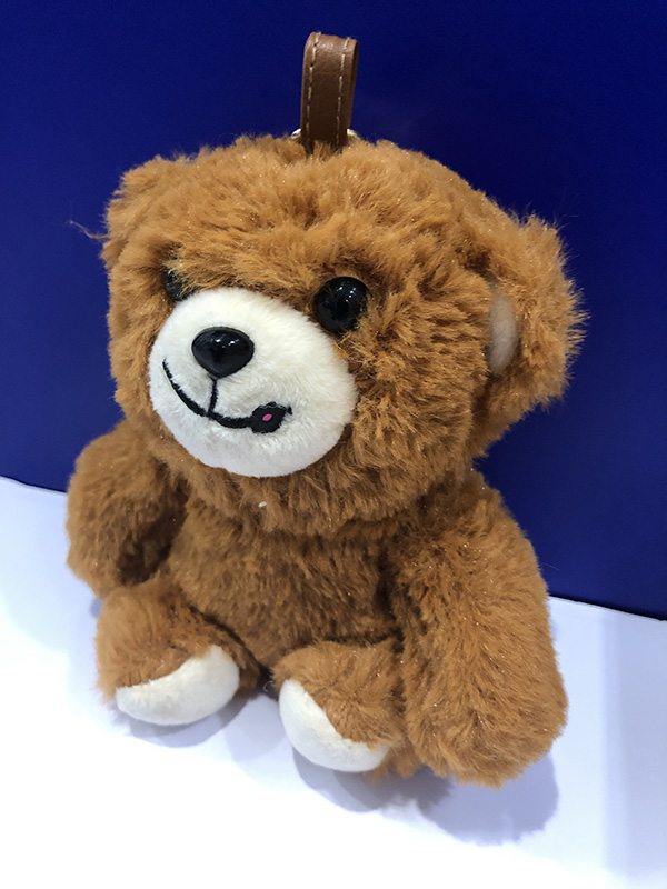 针孔摄像头被躲正在玩奇熊的嘴角处