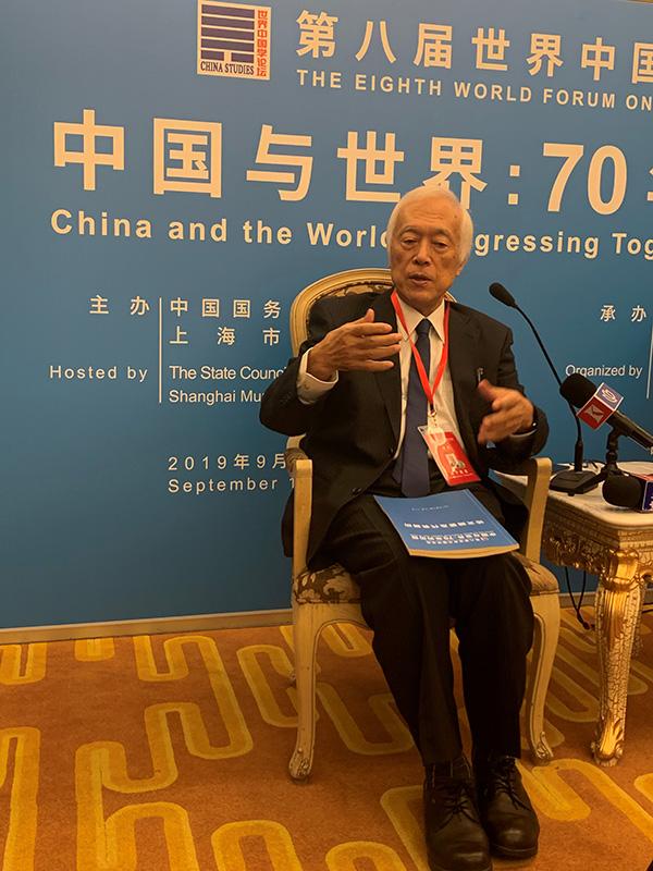中国学论坛丨滨下武志:往来中日四十年,看中国社会变与不变
