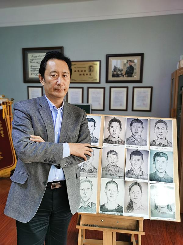 神笔警探林宇辉:绘章莹颖案真凶 模拟画被拐儿童