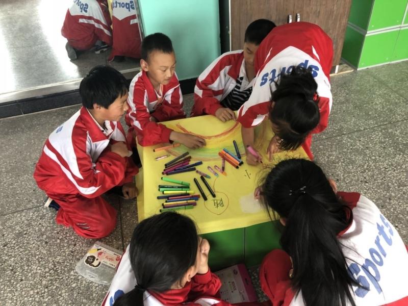 市教育局下乡中小学心理健康活动送教开展教育年级四语小学上册文版人教图片