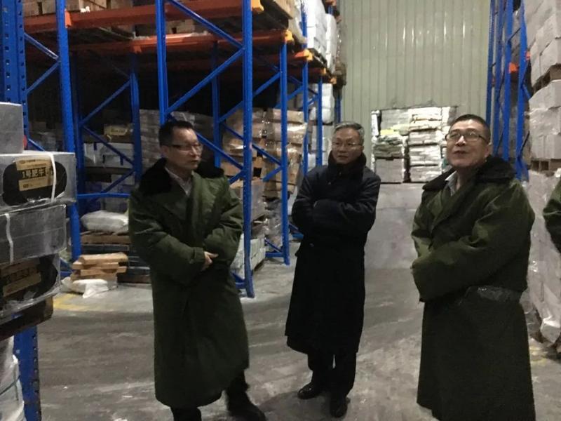 市发展改革局开展市本级冻猪肉储备调研和检查工作