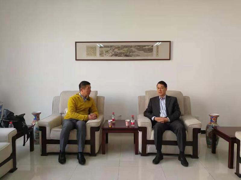 原高强副会长会见太平洋资源投资集团马坤棠先生