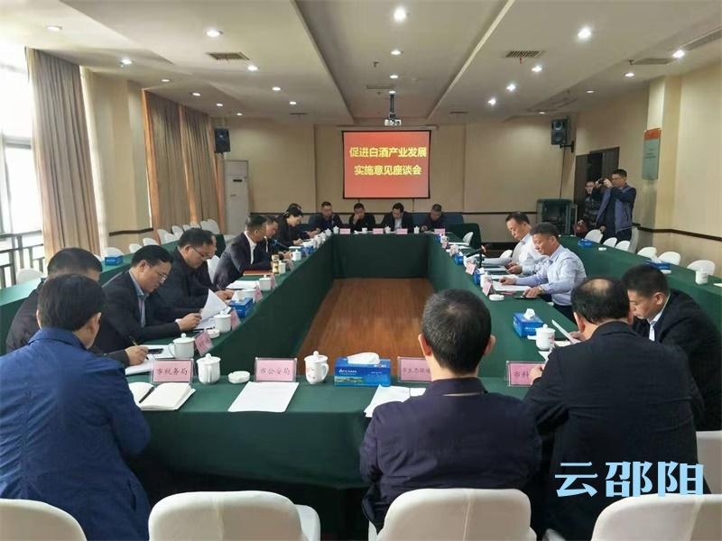 邵阳市召开促进白酒产业发展实施意见座谈会