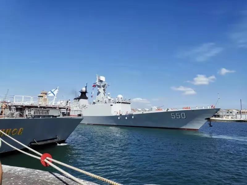 <b>中国海军潍坊舰抵达南非 参加海上联合演习(图)|南非|中国海军</b>