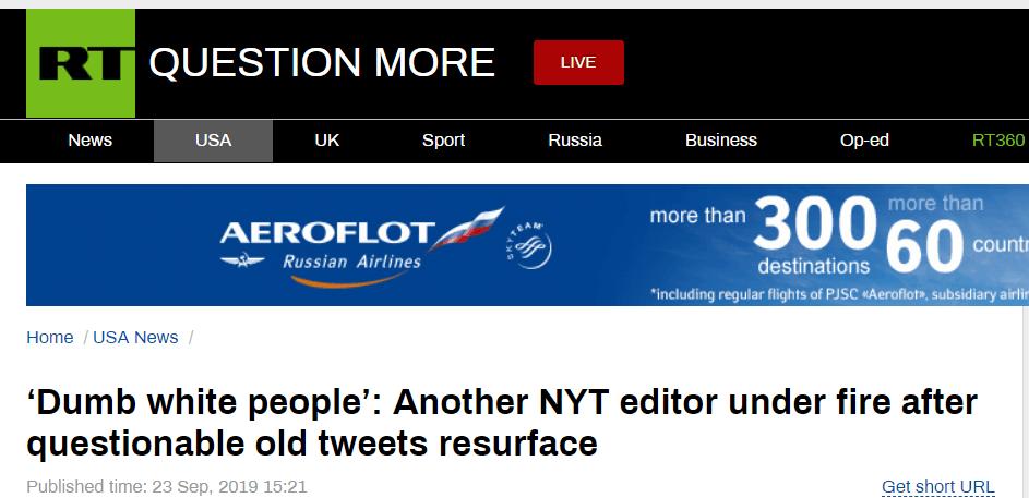RT报导截图